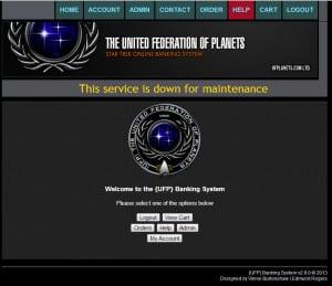 UFP Bank system