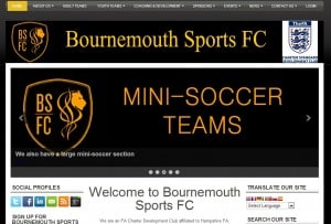Bournemouth Sports FC Website