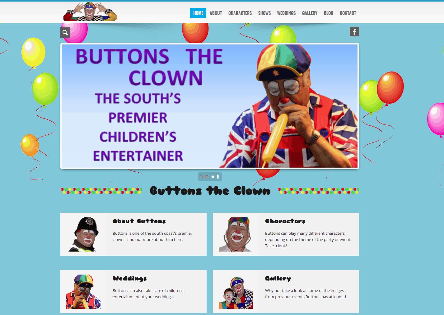 Buttons the Clown